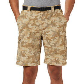 Columbia Silver Ridge Printed Cargo Shorts Men fossil camo